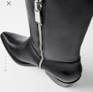 Zara Shoes - Sold / ZARA cowboy boots new